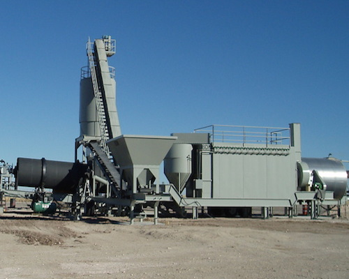 Combination Asphalt Plant